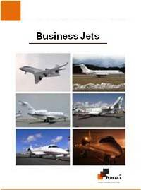 Global Top 5 Business Jet Manufacturers - 2019