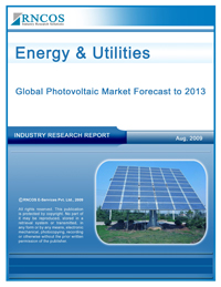 Global Photovoltaic Market Forecast to 2013