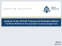 Analysis of the US DoD Training and Simulation Market