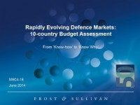 Rapidly Evolving Defence Markets: 10-country Budget Assessment