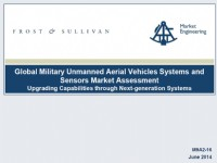 Global Military Unmanned Aerial Vehicles Systems and Sensors Market Assessment