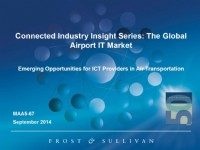 Connected Industries Insight Series: The Global Airport IT Market