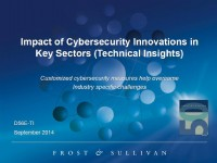 Impact of Cybersecurity Innovations in Key Sectors (Technical Insights)