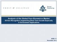 Analysis of the Global Face Biometrics Market