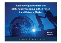 The French Land Defence Market - Revenue Opportunities and Stakeholder Mapping