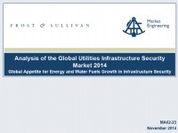 Analysis of the Global Utilities Infrastructure Security  Market 2014