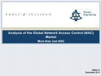 Analysis of the Global Network Access Control (NAC) Market