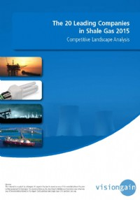 The 20 Leading Companies in Shale Gas 2015