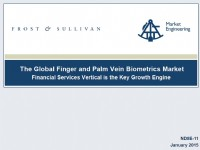The Global Finger and Palm Vein Biometrics Market