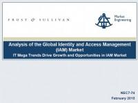 Identity & Access Management (IAM) Global Market Analysis