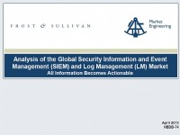 SIEM and Log Management Global Market Analysis