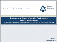 Banking and Finance Security Technology Market Assessment