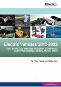 Hybrid and Electric Vehicles for Land, Water and Air 2013-2023: Forecasts, Technologies, Players