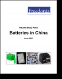 Batteries in China to 2016