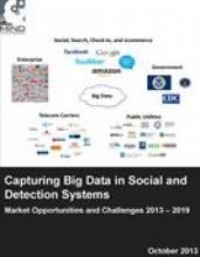 Capturing Big Data in Social and Detection Systems: Market Opportunities and Challenges 2013 - 2019