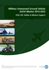 Military Unmanned Ground Vehicle (UGV) Market 2013-2023: EOD, ISR, Soldier & Mission Support