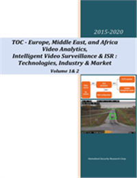 Video Analytics, ISR & Intelligent Video Surveillance: Europe, Middle East and Africa Market 2015-2020