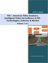 Video Analytics, ISR & Intelligent Video Surveillance: Americas Market-2015-2020