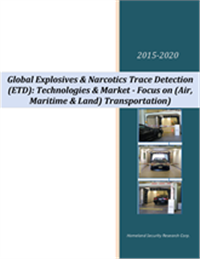 Global Explosives & Narcotics Trace Detection (ETD): Technologies & Market – 2015-2020 – Focus on (A...