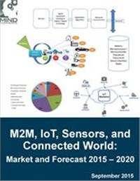 M2M, IoT, Sensors, and Connected World: Market and Forecast 2015 – 2020