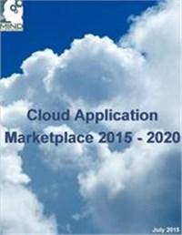 Cloud Application Marketplace 2015 - 2020