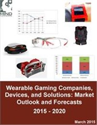 Wearable Gaming Companies, Devices, and Solutions: Market Outlook and Forecasts 2015 - 2020
