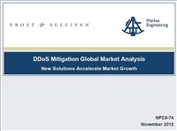 DDoS Mitigation Global Market Analysis