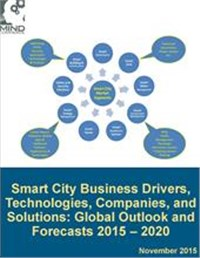Smart City Business Drivers, Technologies, Companies, and Solutions: Global Outlook and Forecasts 2015 – 2020