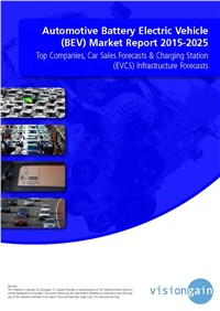 Automotive Battery Electric Vehicle (BEV) Market Report 2015-2025
