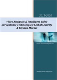 Video Analytics & Intelligent Video Surveillance Technologies: Global Security & Civilian Market 2015-2020