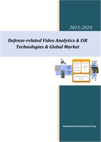 Defense Related Video Analytics, IVS & ISR Technologies & Global Market 2015-2020