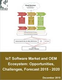 The IoT Software Market and OEM Ecosystem: Opportunities, Challenges, and Forecast 2015 - 2020