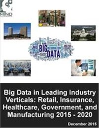 Big Data in Leading Industry Verticals: Retail, Insurance, Healthcare, Government, and Manufacturing 2015 - 2020