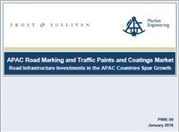 APAC Road Marking and Traffic Paints and Coatings Market