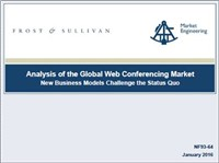 Analysis of the Global Web Conferencing Market