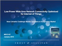 Low-Power Wide Area Network Connectivity Optimised for Internet of Things