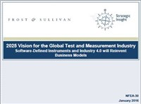 2025 Vision for the Global Test and Measurement Industry