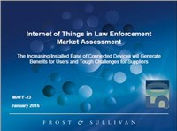 Internet of Things in Law Enforcement Market Assessment