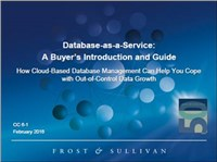 Database-as-a-Service: A Buyer's Introduction and Guide