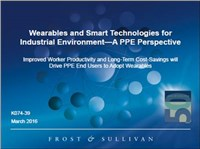 Wearables and Smart Technologies for Industrial Environment - A PPE Perspective