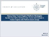 Heavy Duty Truck Engine Platform Strategies