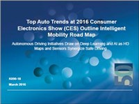 Top Auto Trends at 2016 Consumer Electronics Show (CES) Outline Intelligent Mobility Road Map