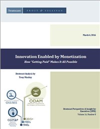 Innovation Enabled by Monetization