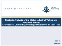 Strategic Analysis of the Global Industrial Valves and Actuators Market