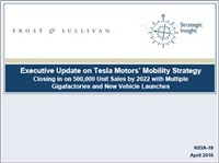 Executive Update on Tesla Motors' Mobility Strategy