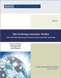 The Evolving Consumer Wallet - Over the Top Impacting Consumer Communication Spending