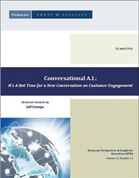 Conversational A.I. - It's A Bot Time for a New Conversation on Customer Engagement