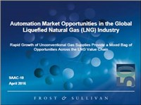Automation Market Opportunities in the Global Liquefied Natural Gas (LNG) Industry
