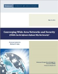Converging Wide Area Networks and Security