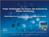 Power Technologies for Drones and Autonomous Robots (TechVision)